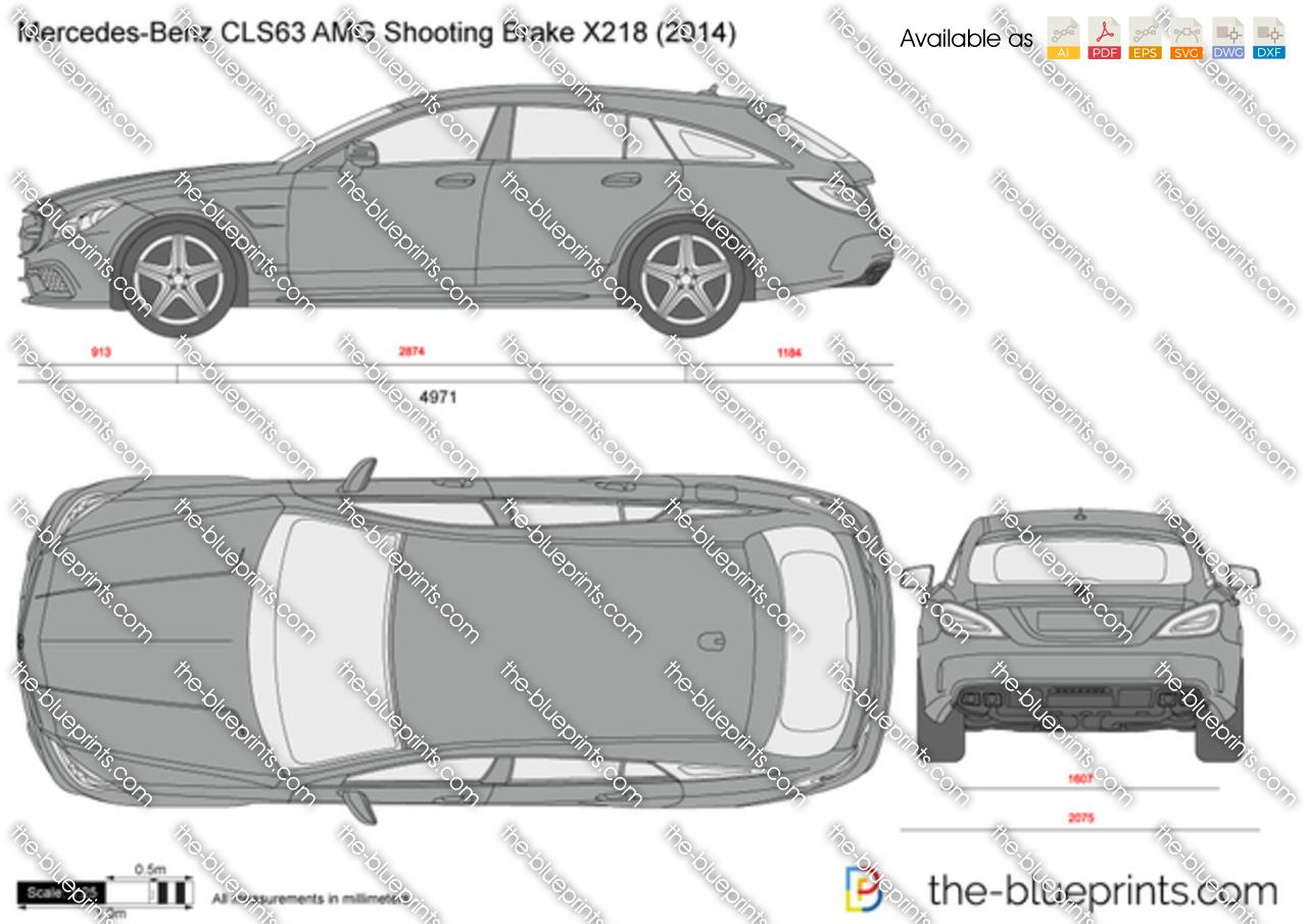 Mercedes-Benz CLS63 AMG Shooting Brake X218