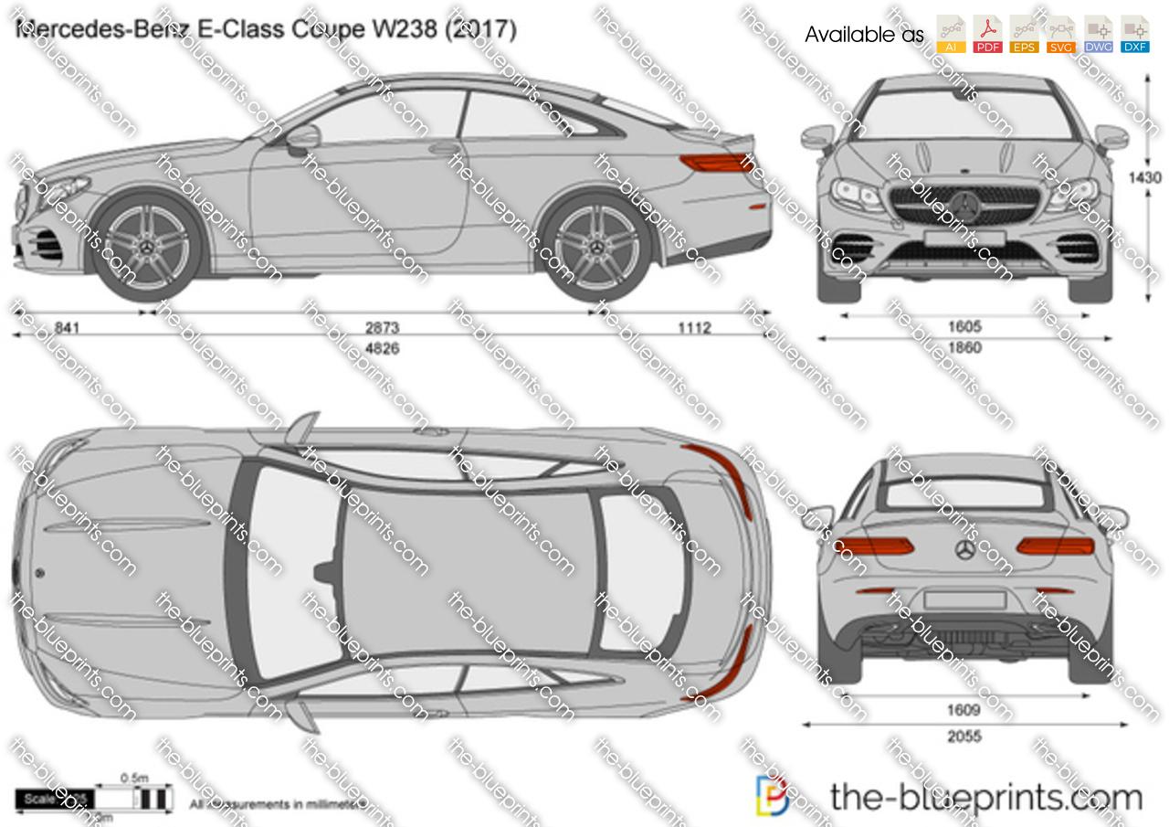 Mercedes-Benz E-Class Coupe W238