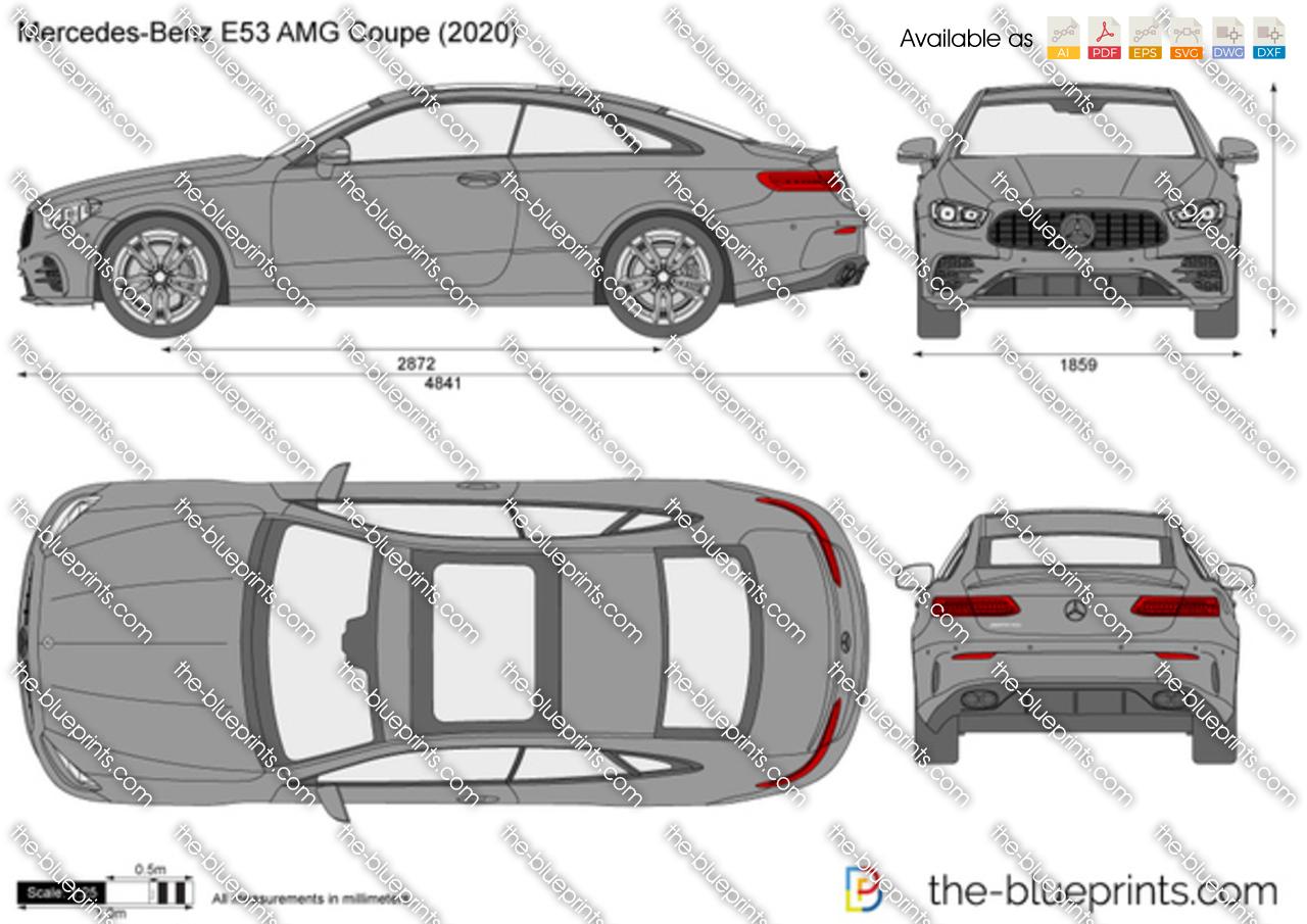 Mercedes-Benz E53 AMG Coupe