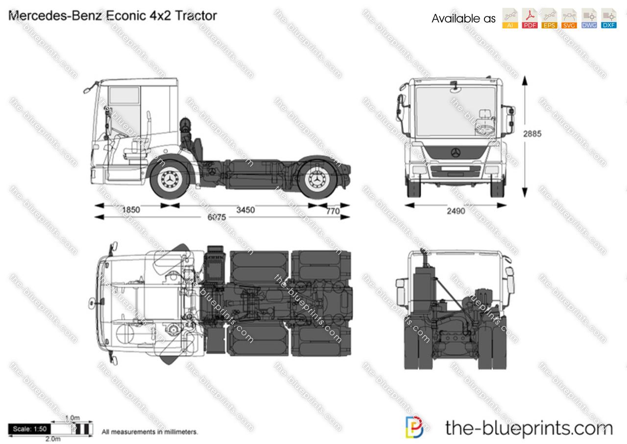 Mercedes-Benz Econic 4x2 Tractor
