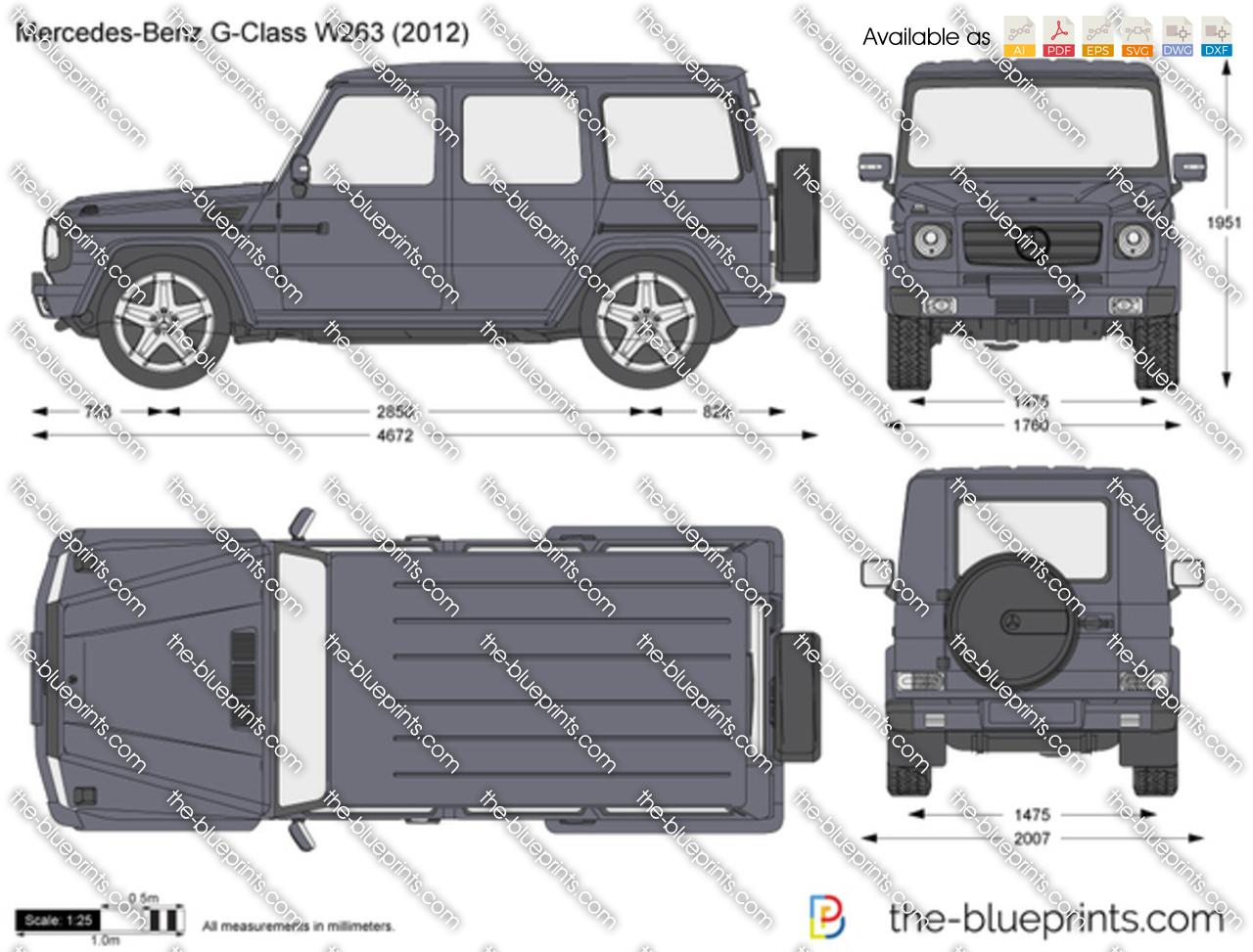 Mercedes-Benz G-Class W263 2016