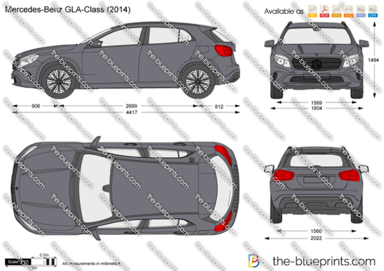 Mercedes-Benz GLA-Class X 156 2015