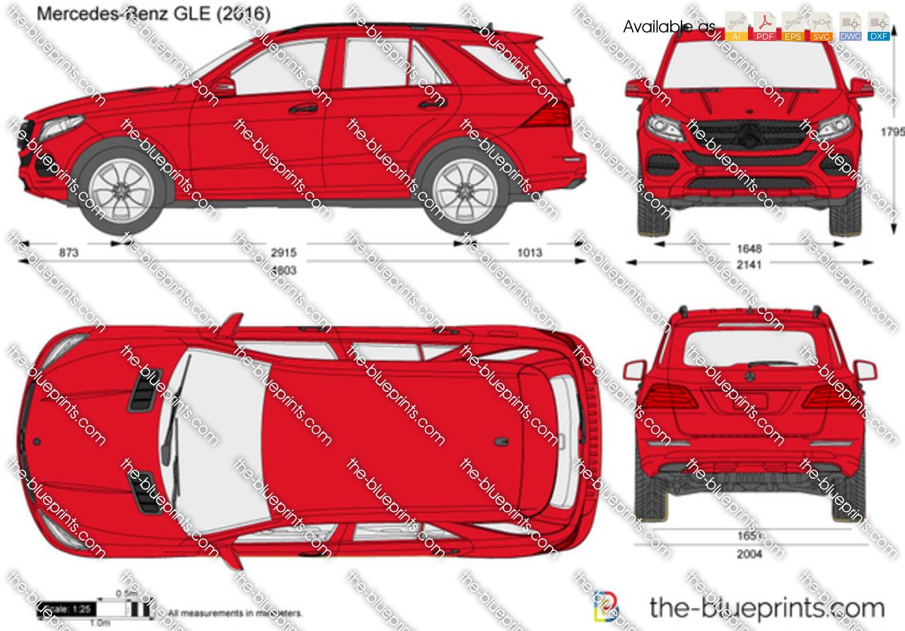 Mercedes-Benz GLE C292