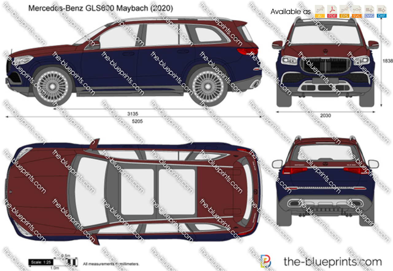 Mercedes-Benz GLS600 Maybach