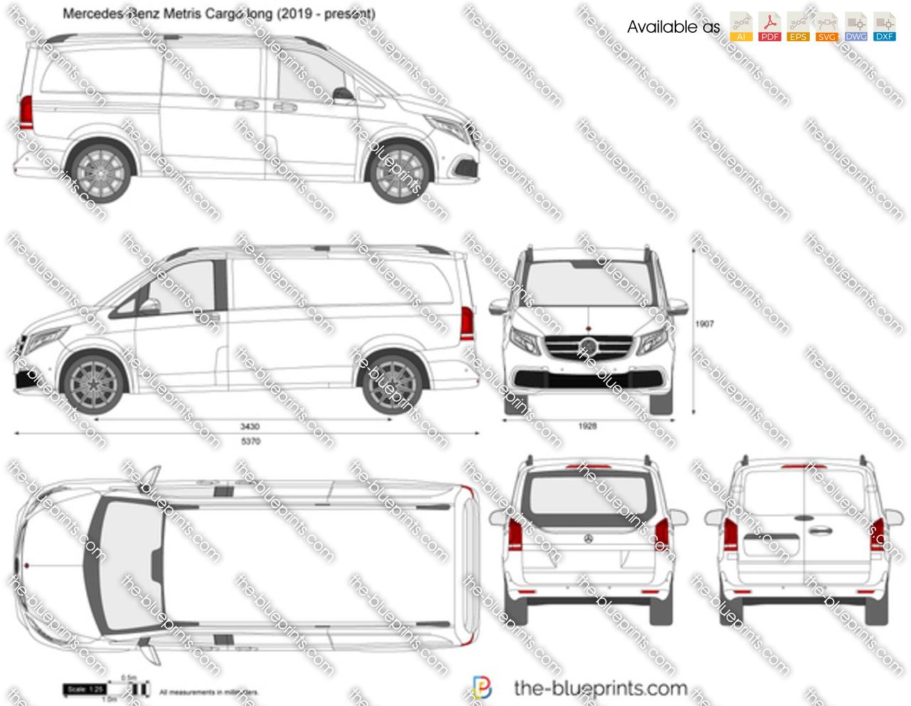 Mercedes-Benz Metris Cargo long