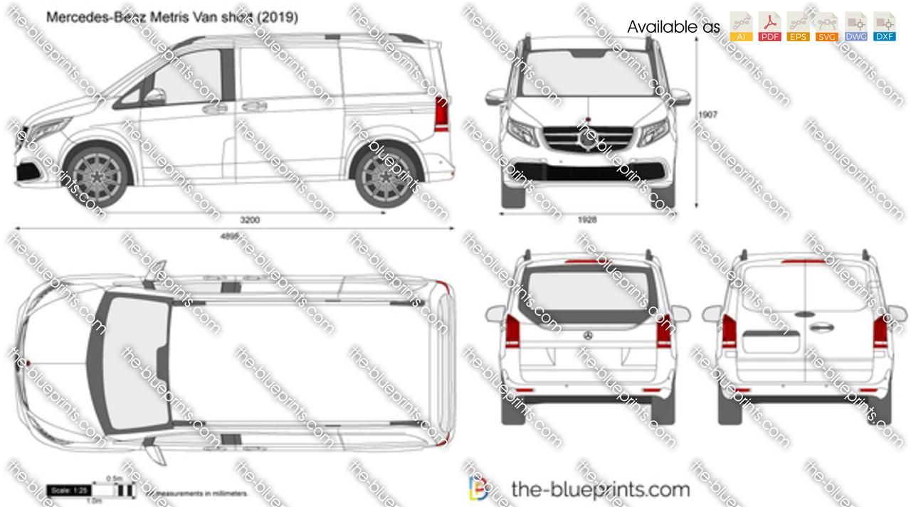 Mercedes-Benz Metris Cargo short