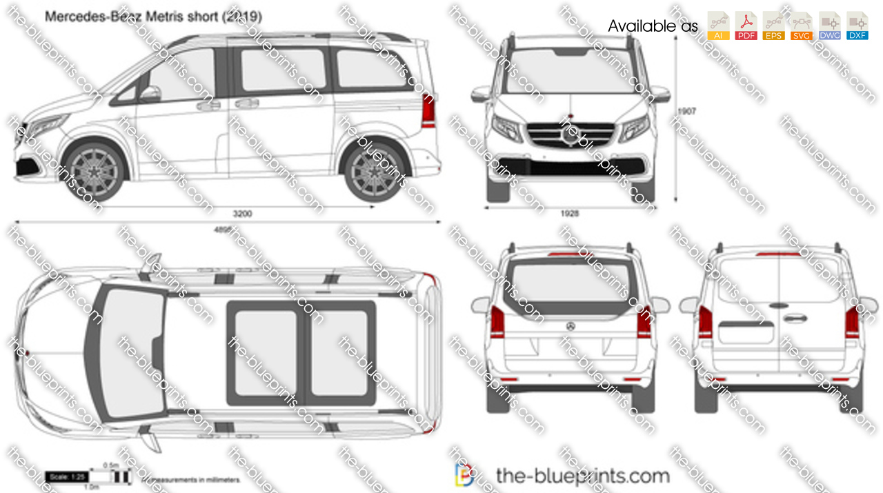 Mercedes-Benz Metris short