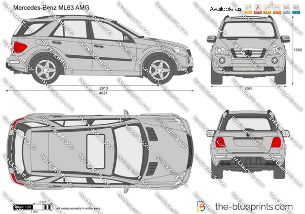 Mercedes-Benz ML63 AMG W163