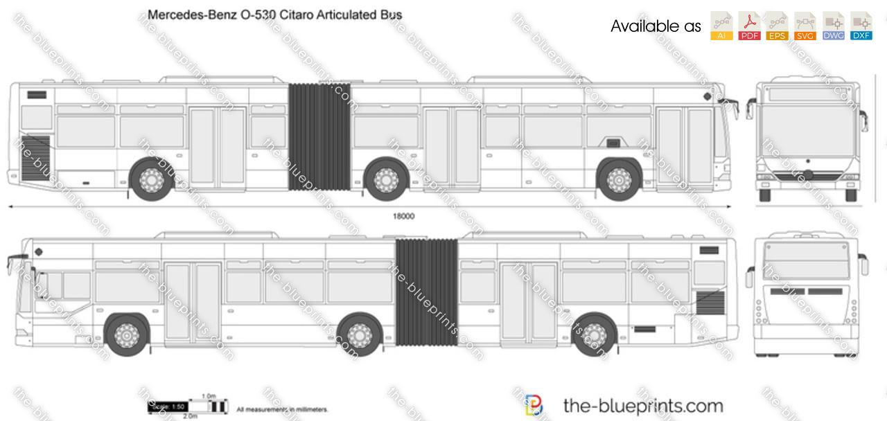 Mercedes-Benz O530 Citaro Articulated Bus