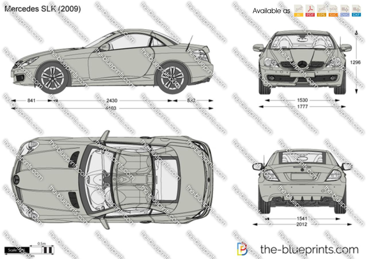 Mercedes-Benz SLK R171 2005