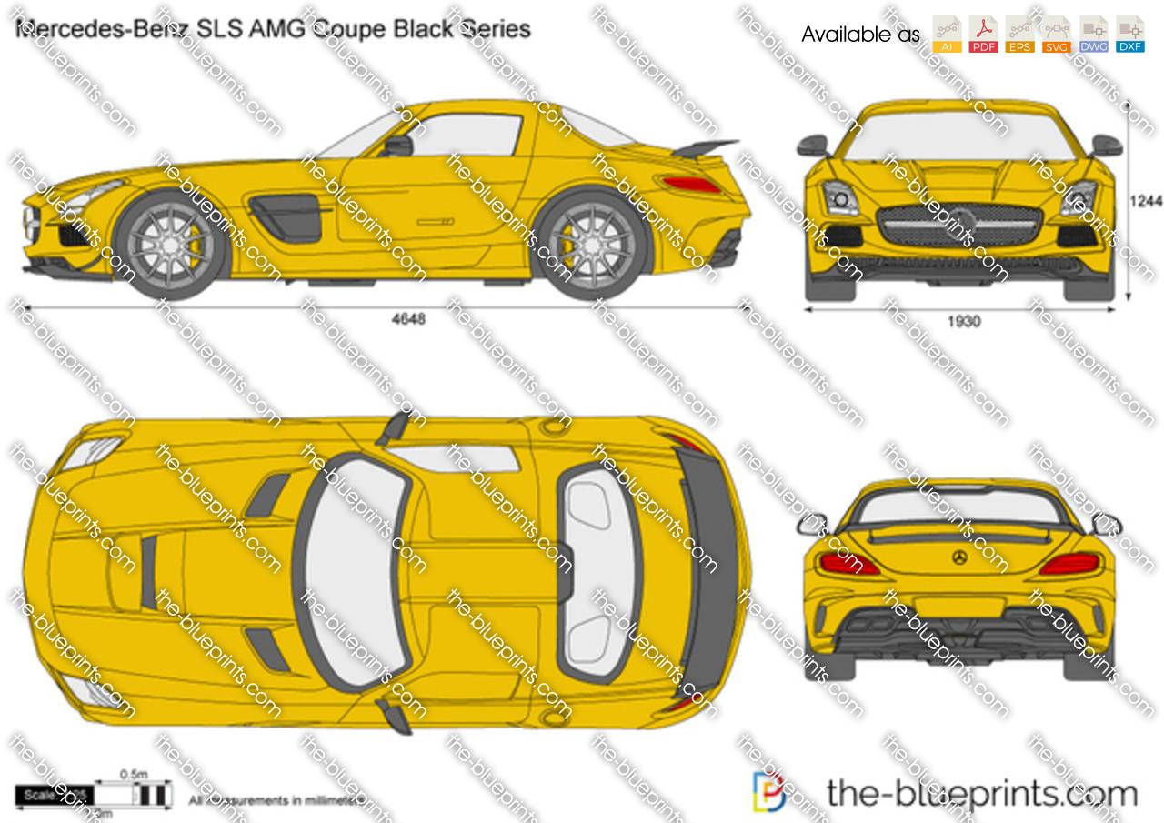 Mercedes-Benz SLS AMG Coupe Black Series C197