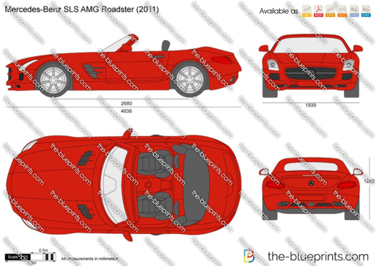 Mercedes-Benz SLS AMG Roadster C197