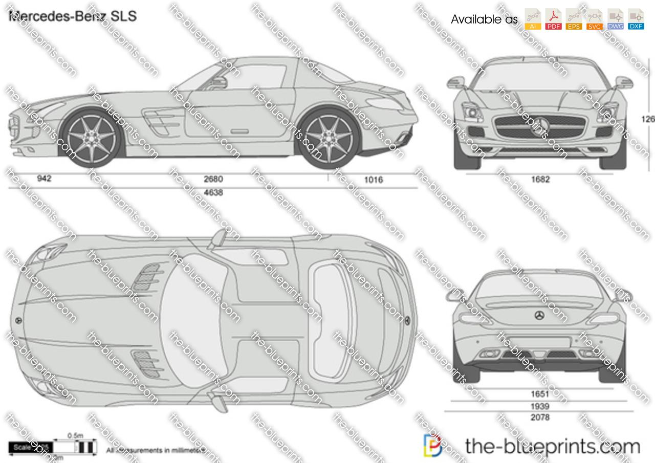 Mercedes-Benz SLS C197