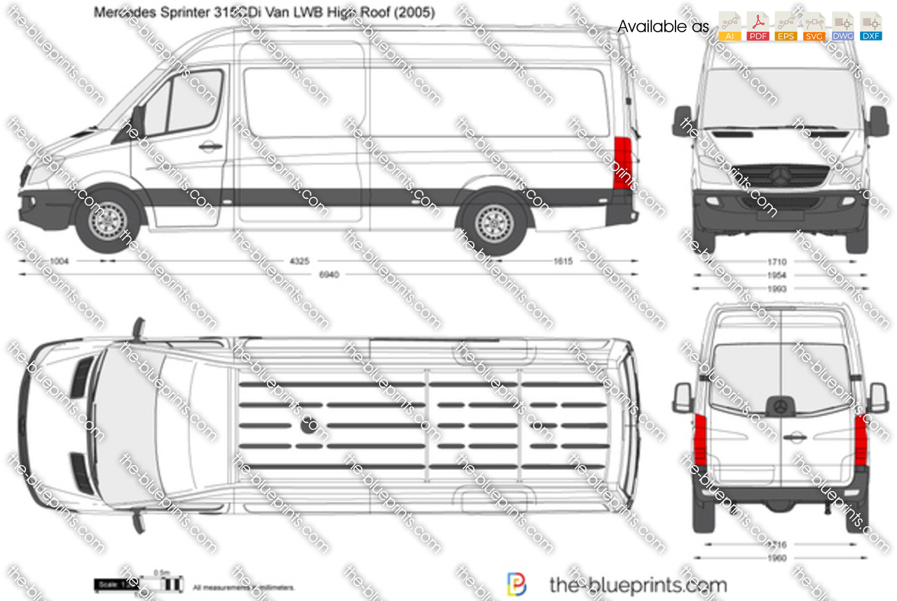mercedes sprinter luton van dimensions. Black Bedroom Furniture Sets. Home Design Ideas
