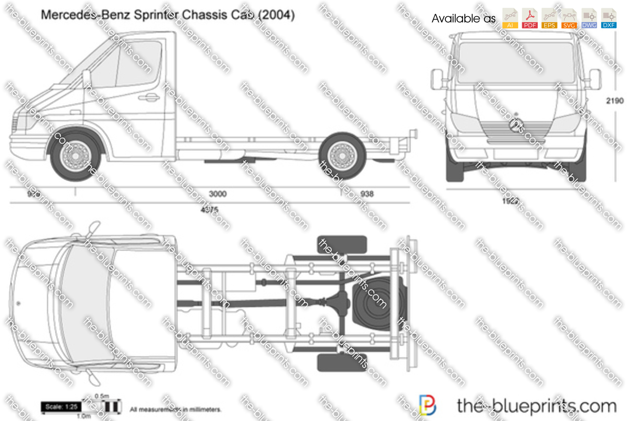 Mercedes-Benz Sprinter Chassis Cab 2002