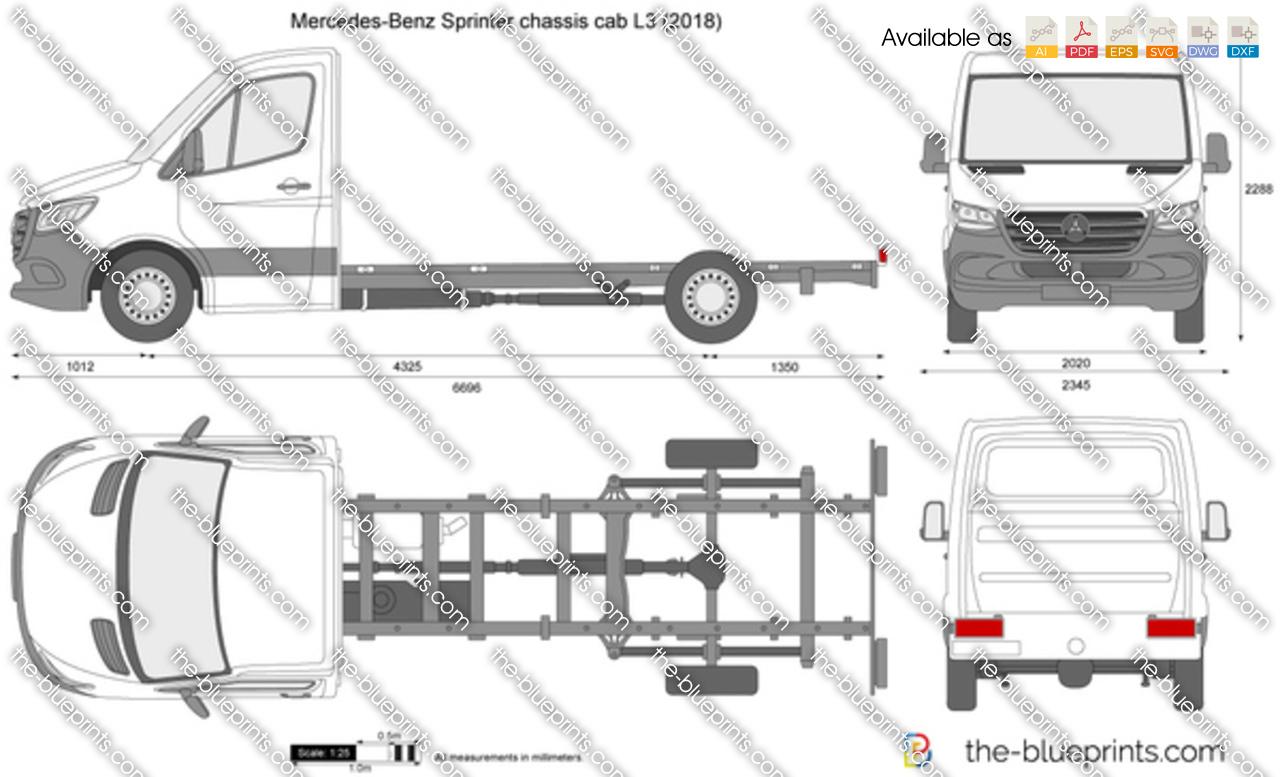Mercedes-Benz Sprinter chassis cab L3