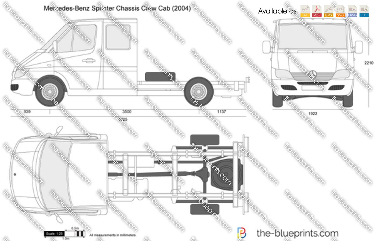 Mercedes-Benz Sprinter Chassis Crew Cab 2003