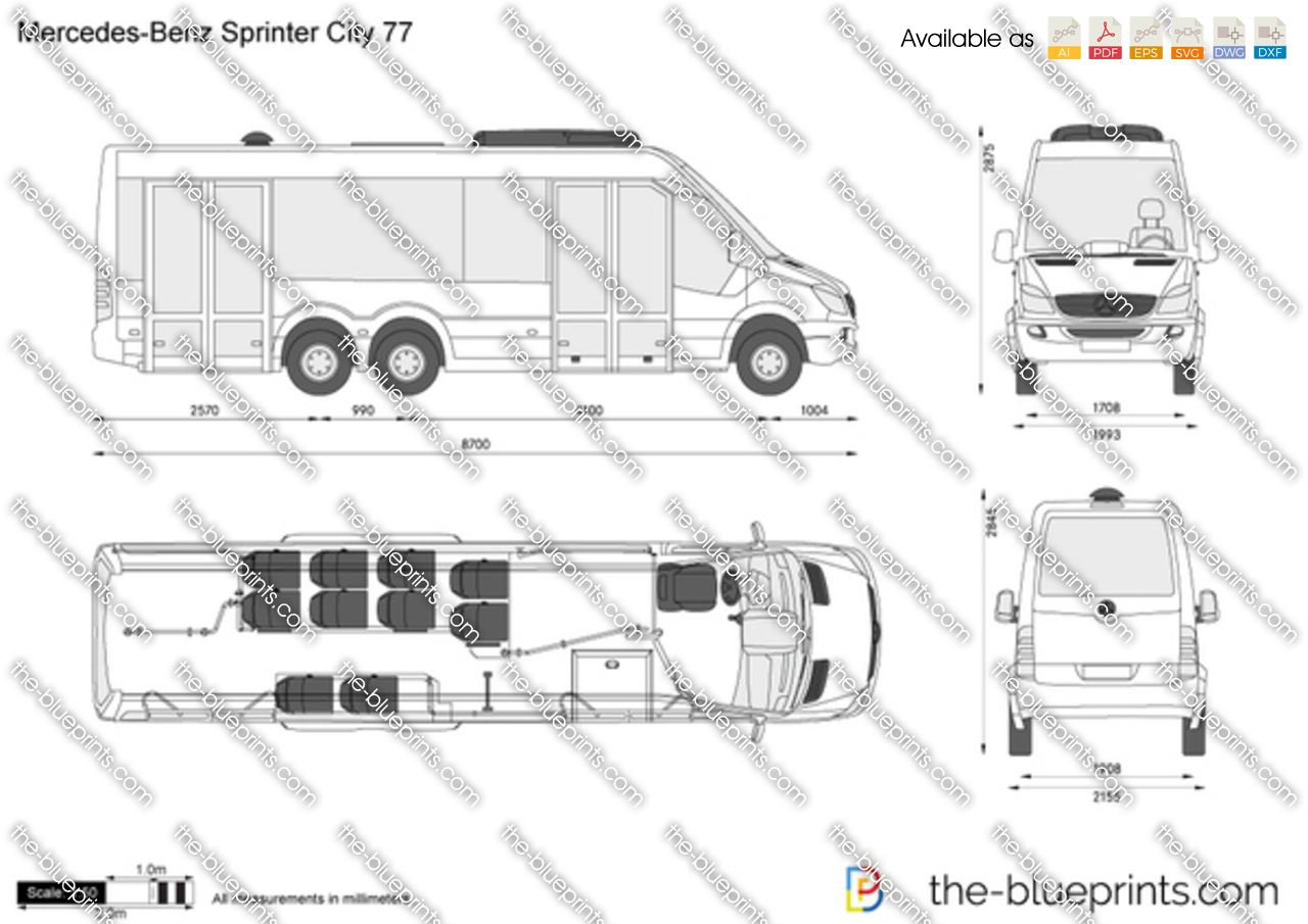 Mercedes-Benz Sprinter City 77