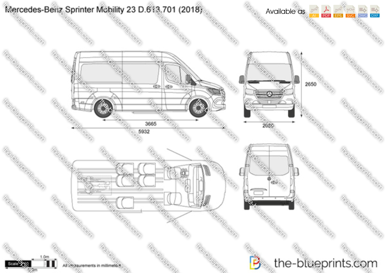 Mercedes-Benz Sprinter Mobility 23 D.613.701