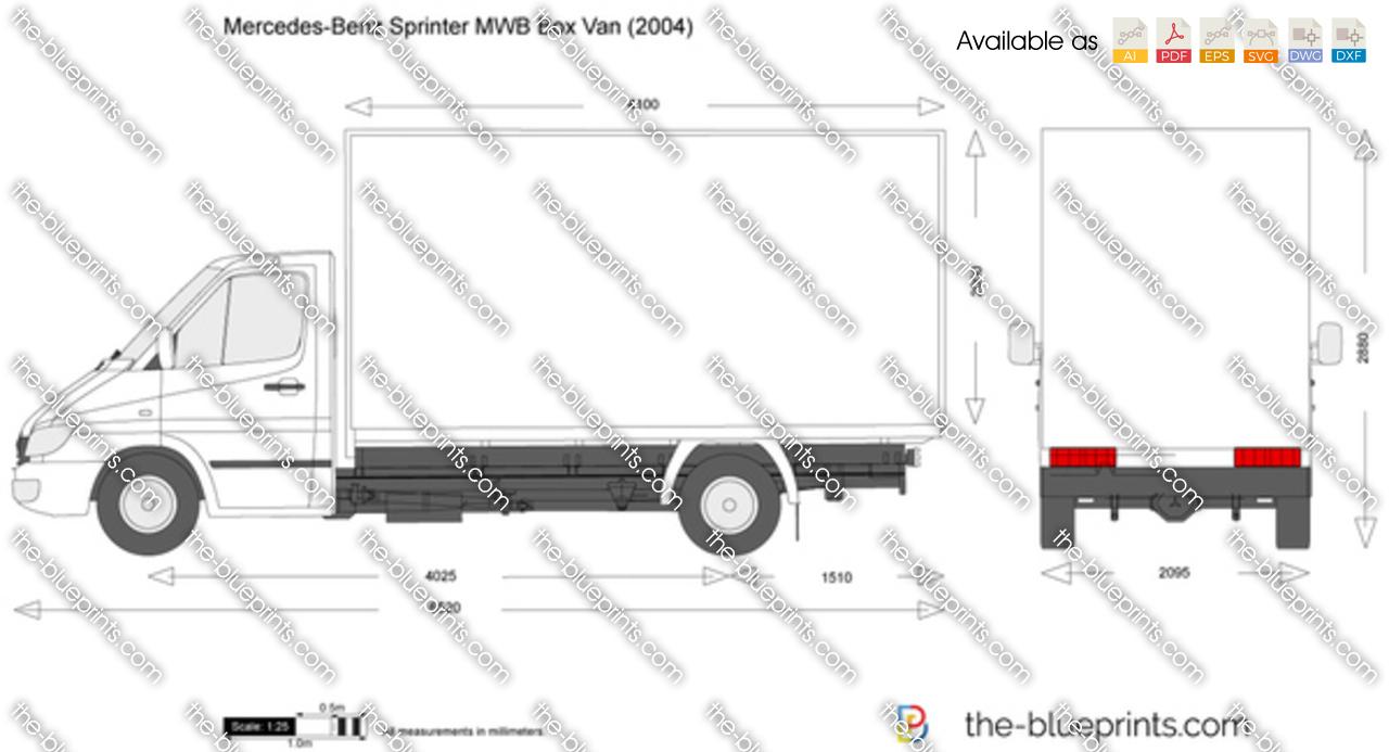 Mercedes-Benz Sprinter MWB Box Van