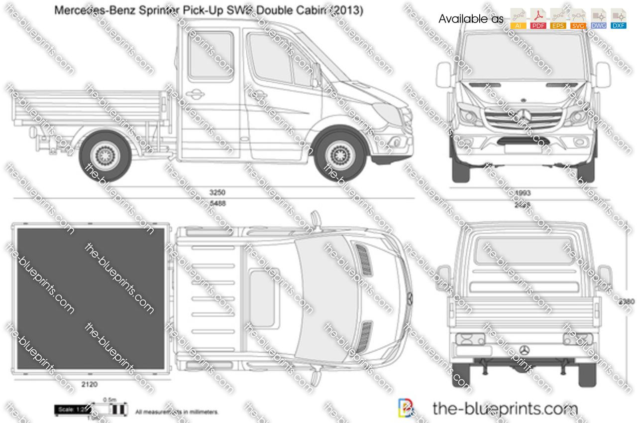 Mercedes-Benz Sprinter Pick-Up SWB Double Cabin
