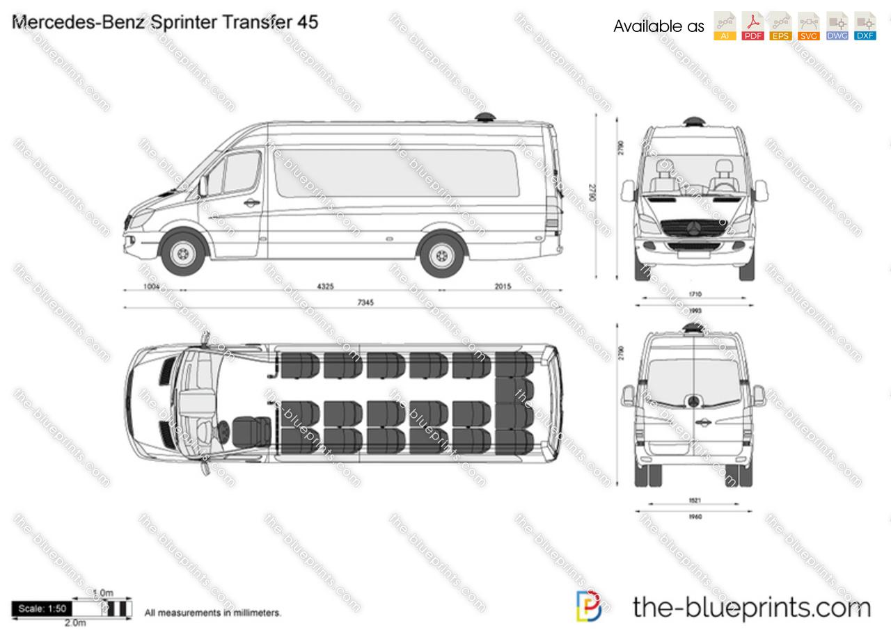 Mercedes-Benz Sprinter Transfer 45