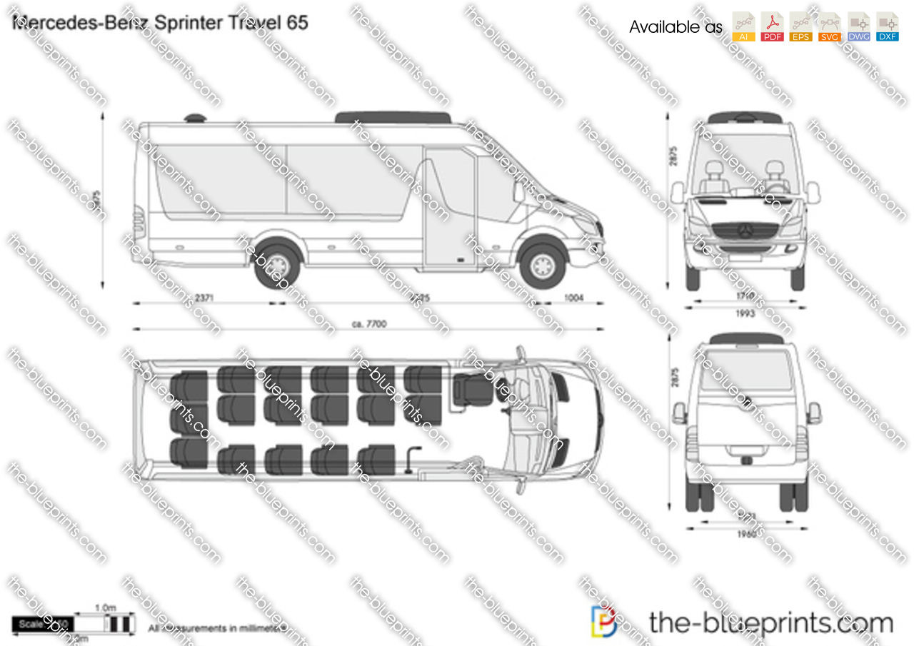Mercedes-Benz Sprinter Travel 65