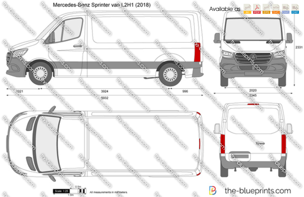 Mercedes-Benz Sprinter van L2H1