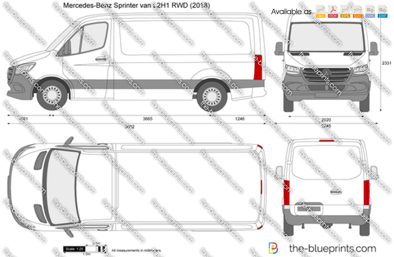 Mercedes-Benz Sprinter van L2H1 RWD