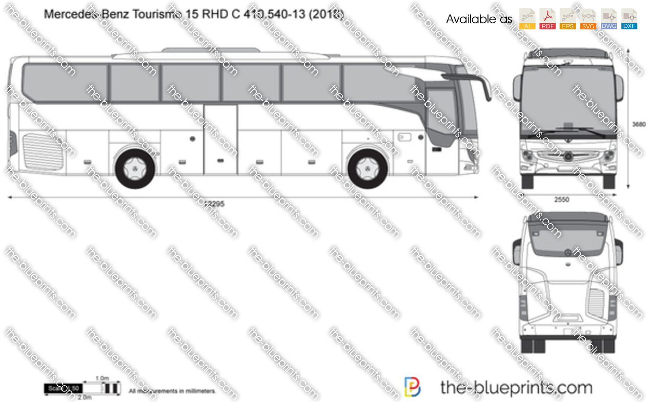 Mercedes-Benz Tourismo 15 RHD C 410.540-13