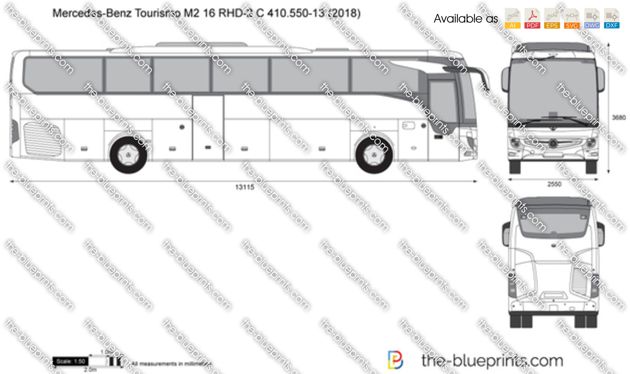 Mercedes-Benz Tourismo M2 16 RHD-2 C 410.550-13