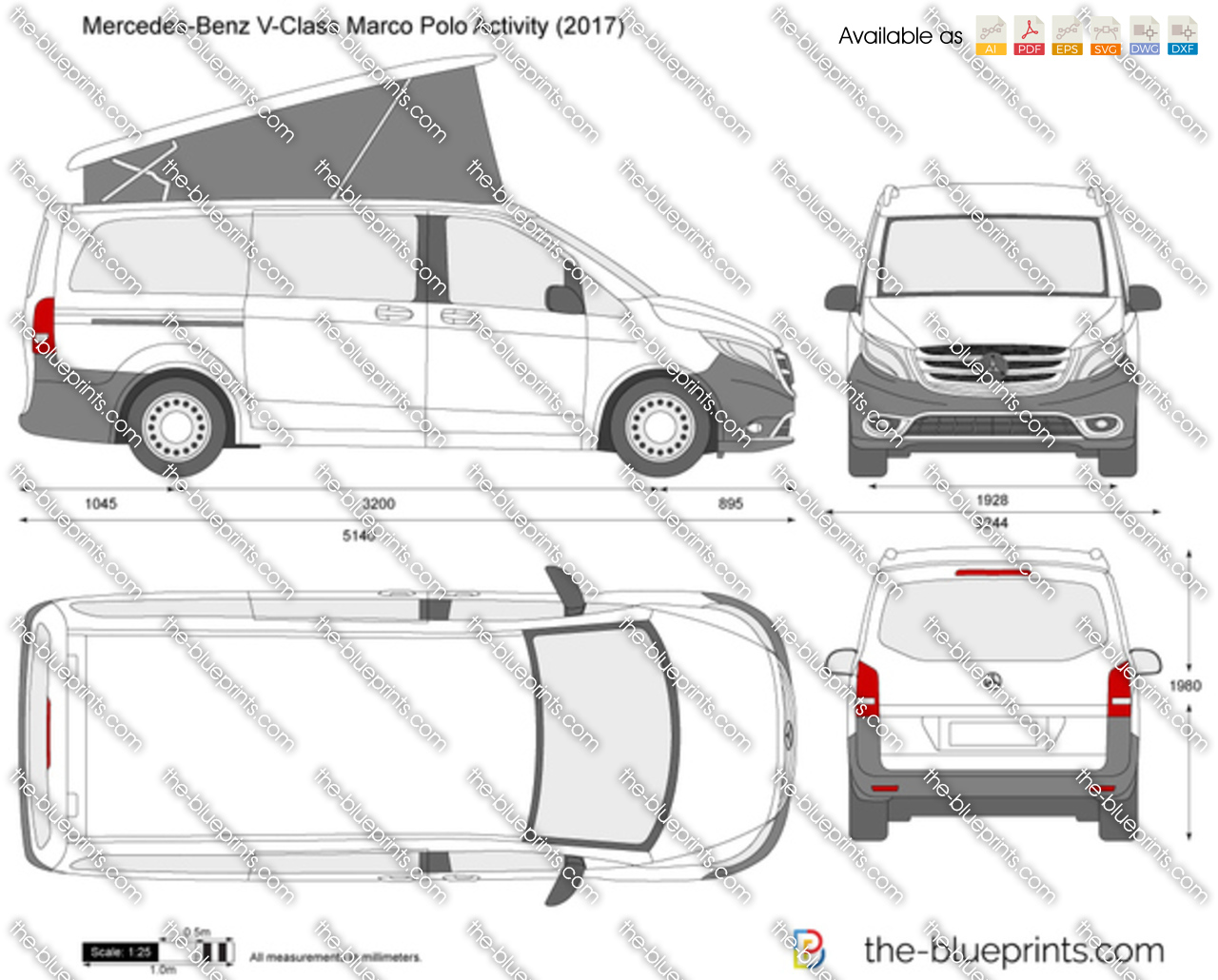 Mercedes-Benz V-Class Marco Polo Activity