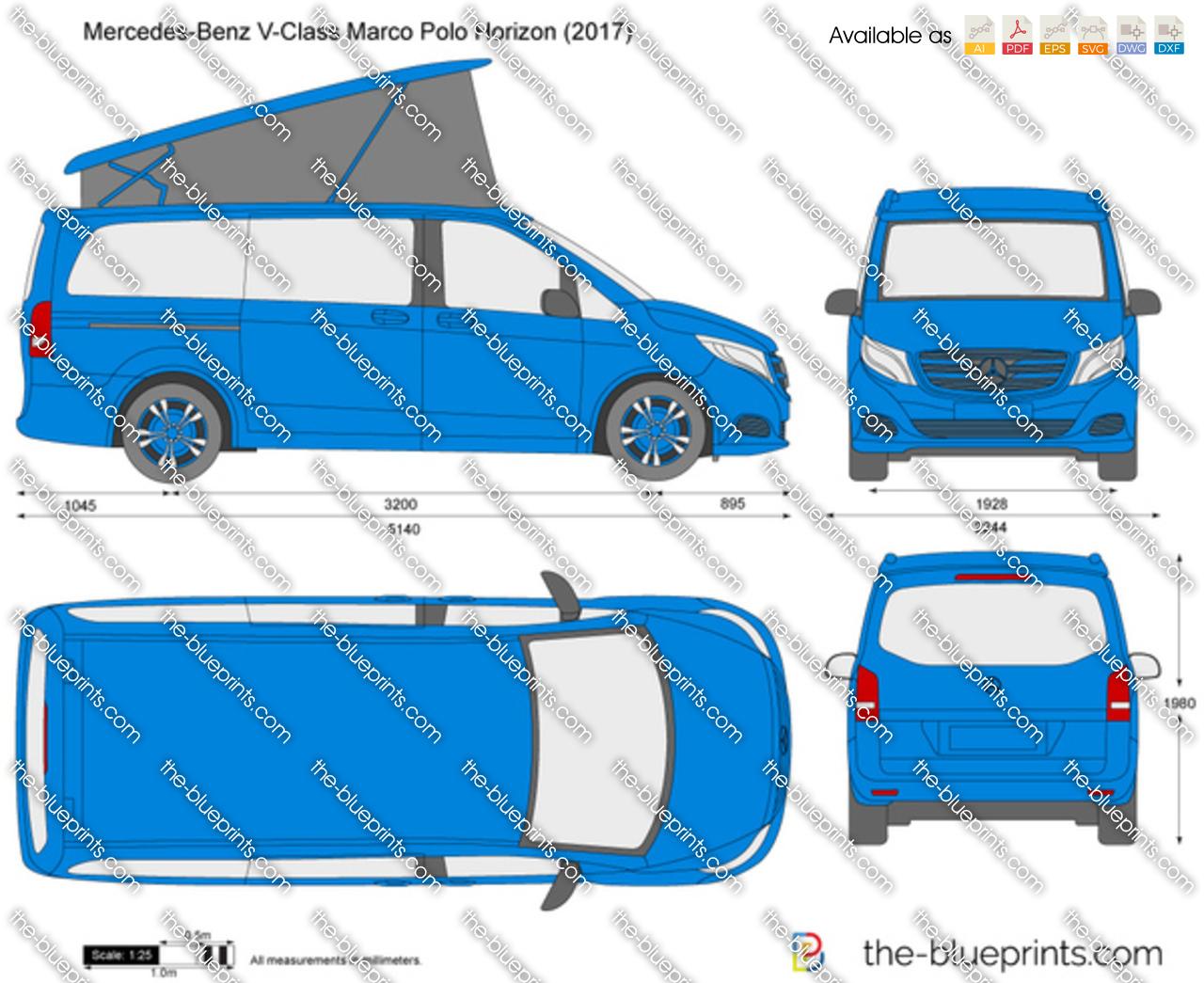 Mercedes-Benz V-Class Marco Polo Horizon