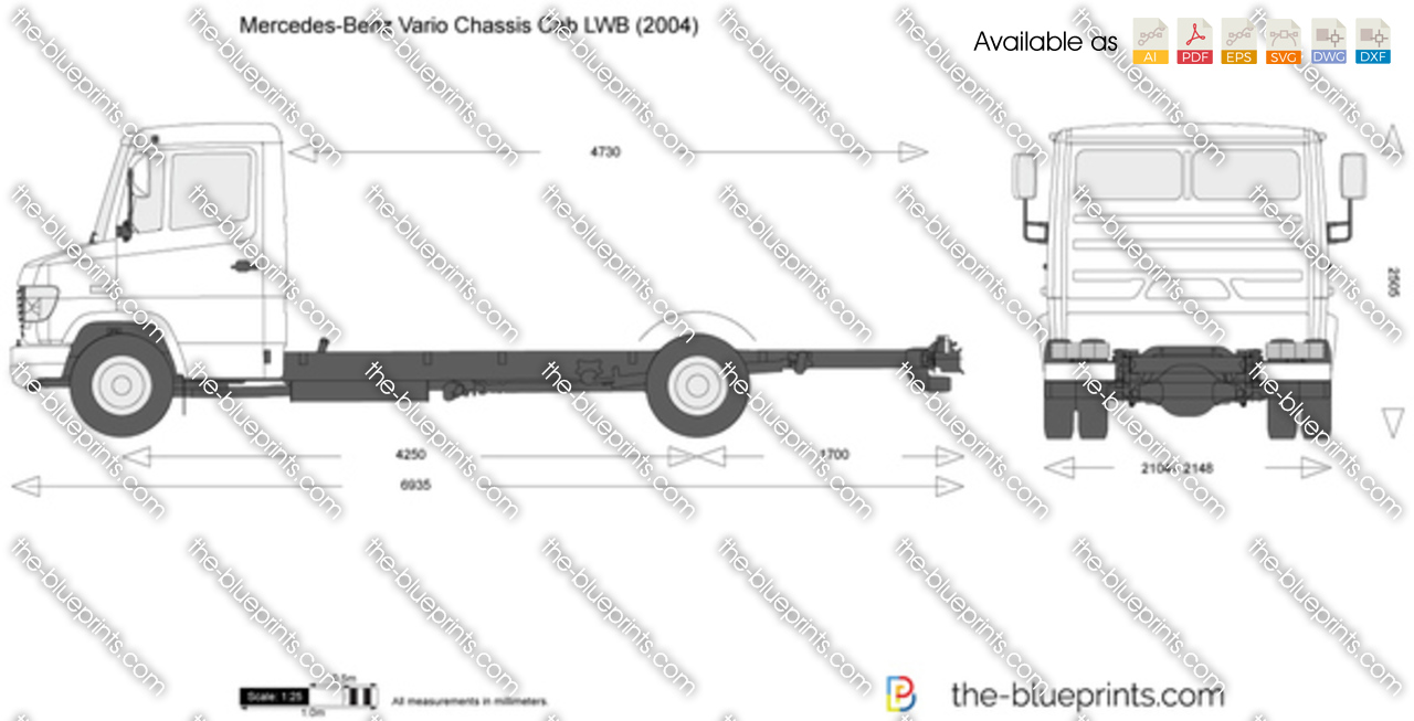 Mercedes-Benz Vario Chassis Cab LWB