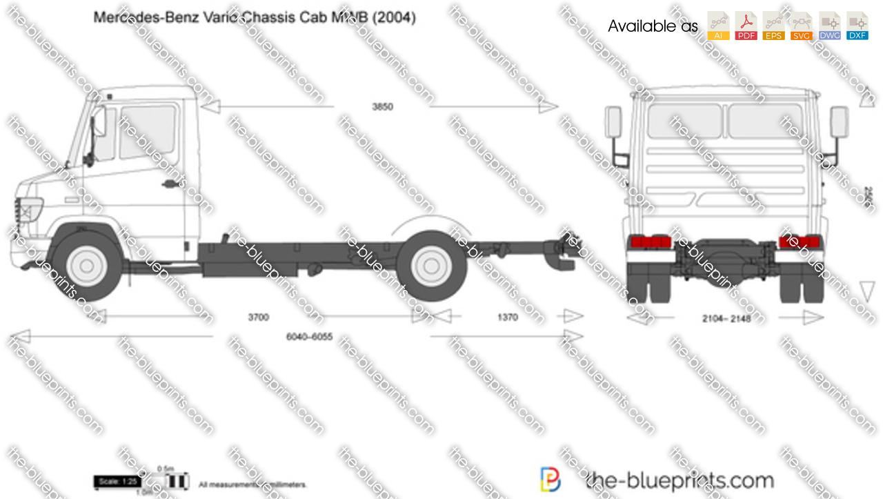 Mercedes-Benz Vario Chassis Cab MWB