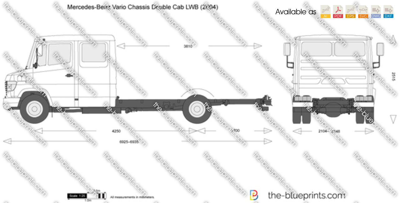 Mercedes-Benz Vario Chassis Double Cab LWB
