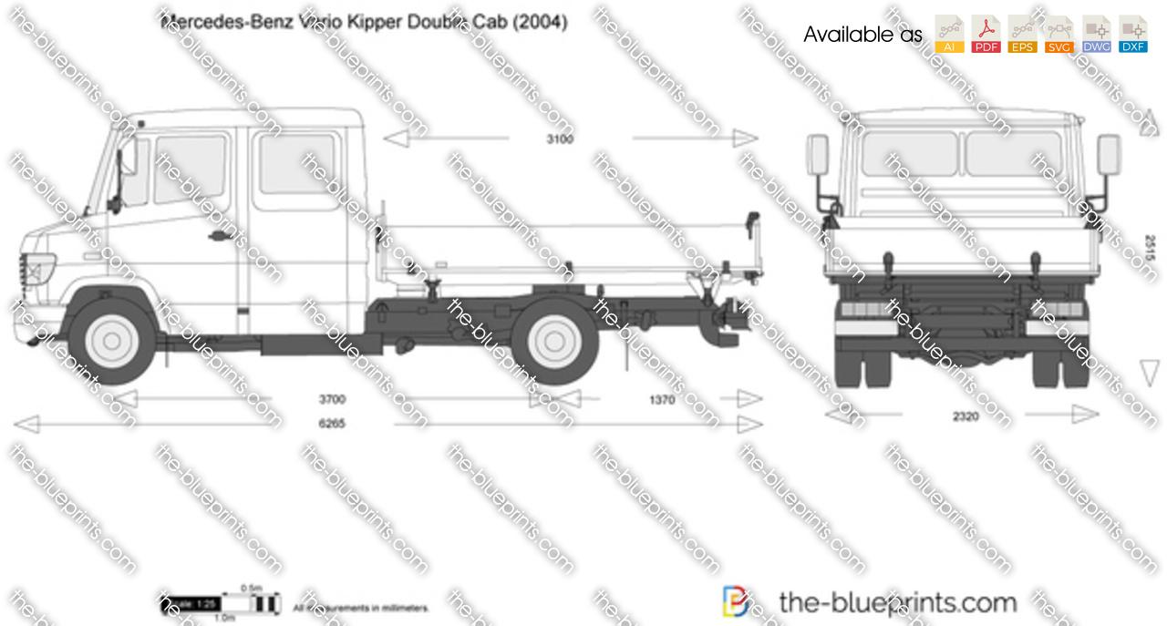 Mercedes-Benz Vario Kipper Double Cab