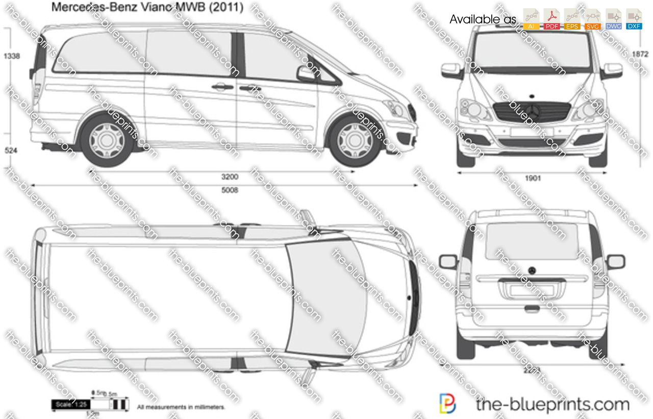 Mercedes-Benz Viano MWB 2012