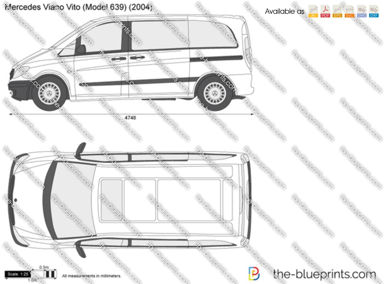 Mercedes-Benz Viano Vito W639 2008