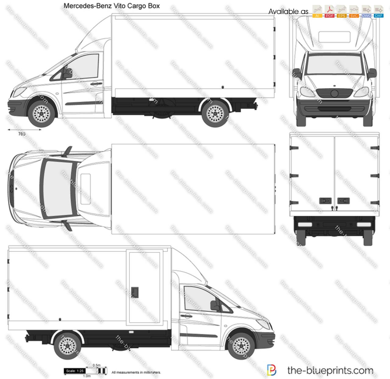 Mercedes-Benz Vito Cargo Box