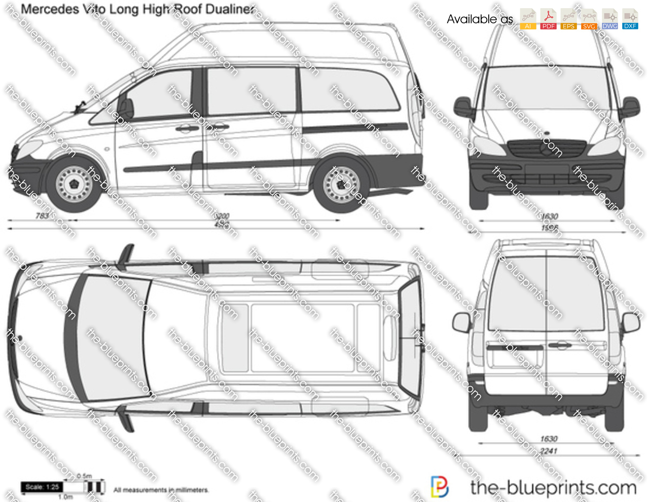 mercedes sprinter lwb high roof dimensions. Black Bedroom Furniture Sets. Home Design Ideas