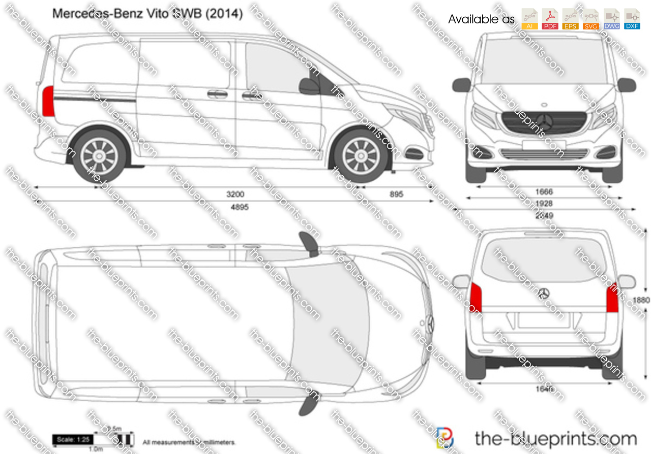 Mercedes-Benz Vito SWB W447