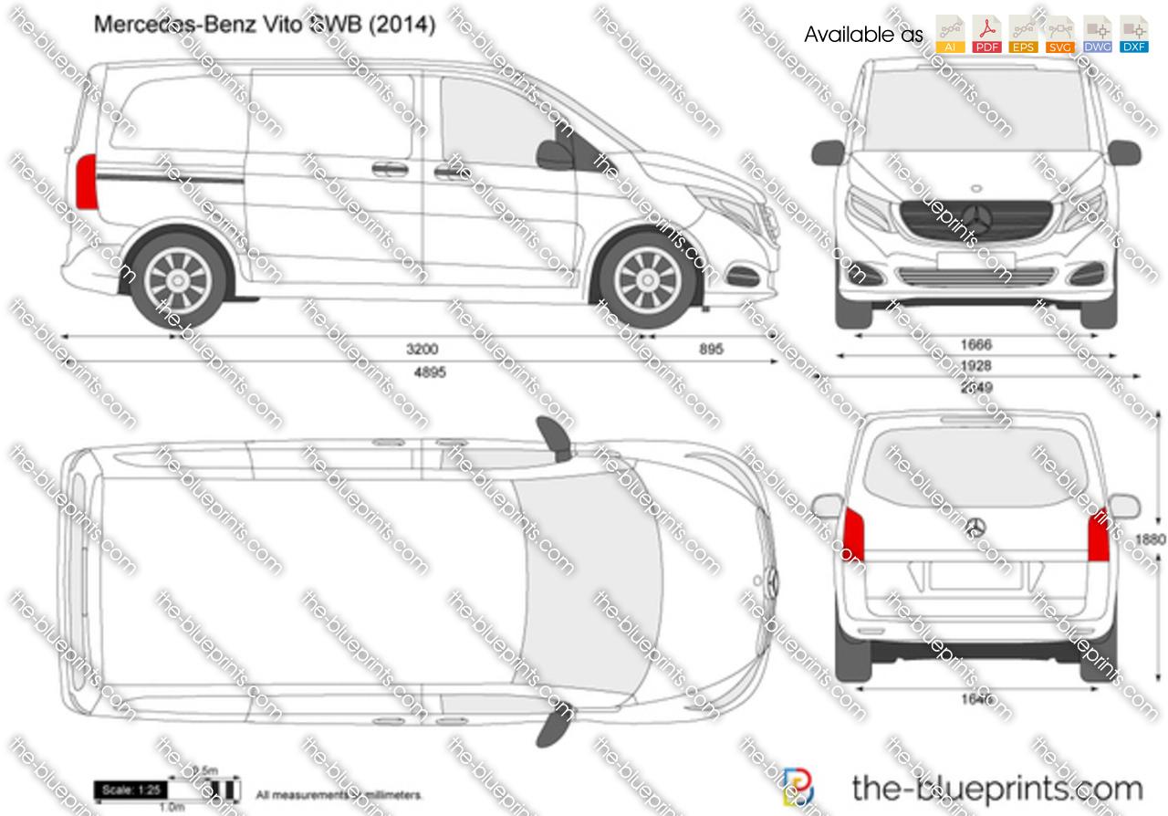Mercedes-Benz Vito SWB W447 2017