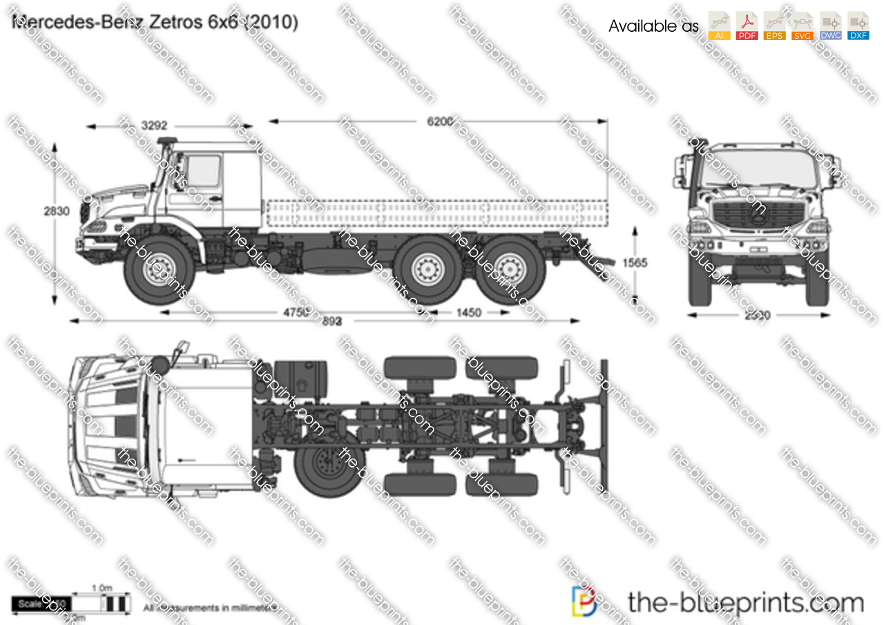 Zetros 6x6 For Sale Autos Post