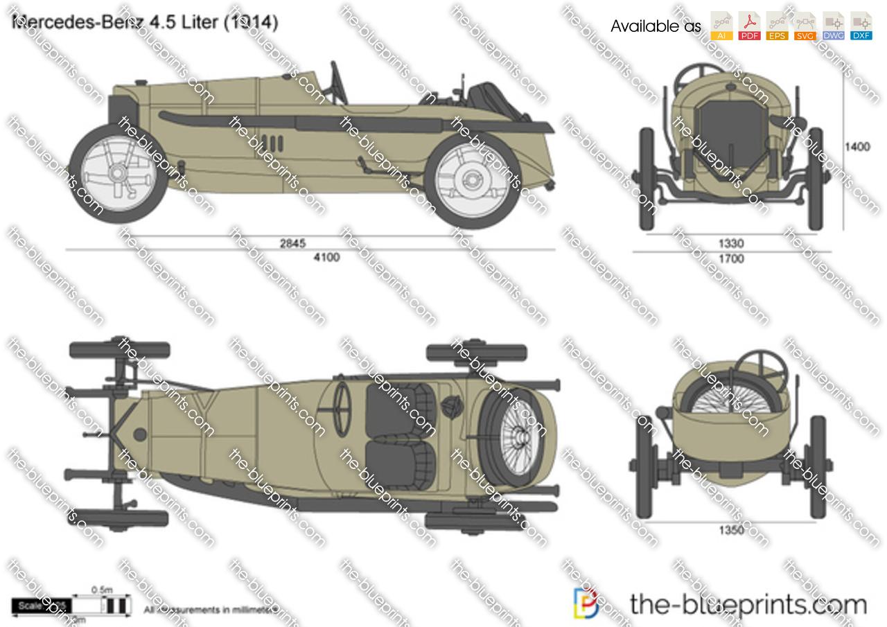 Mercedes 115HP 4.5 liter Grand Prix