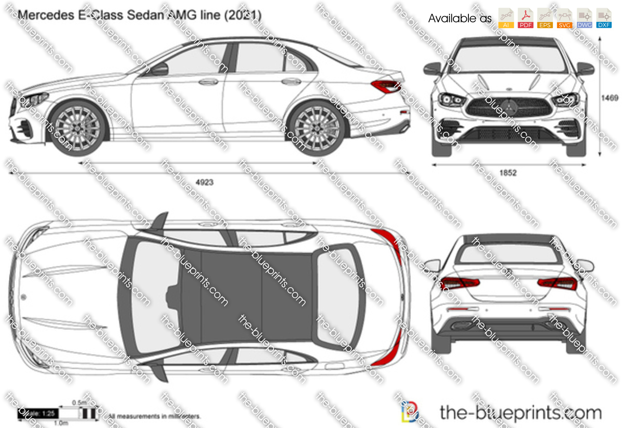 Mercedes E-Class Sedan AMG line
