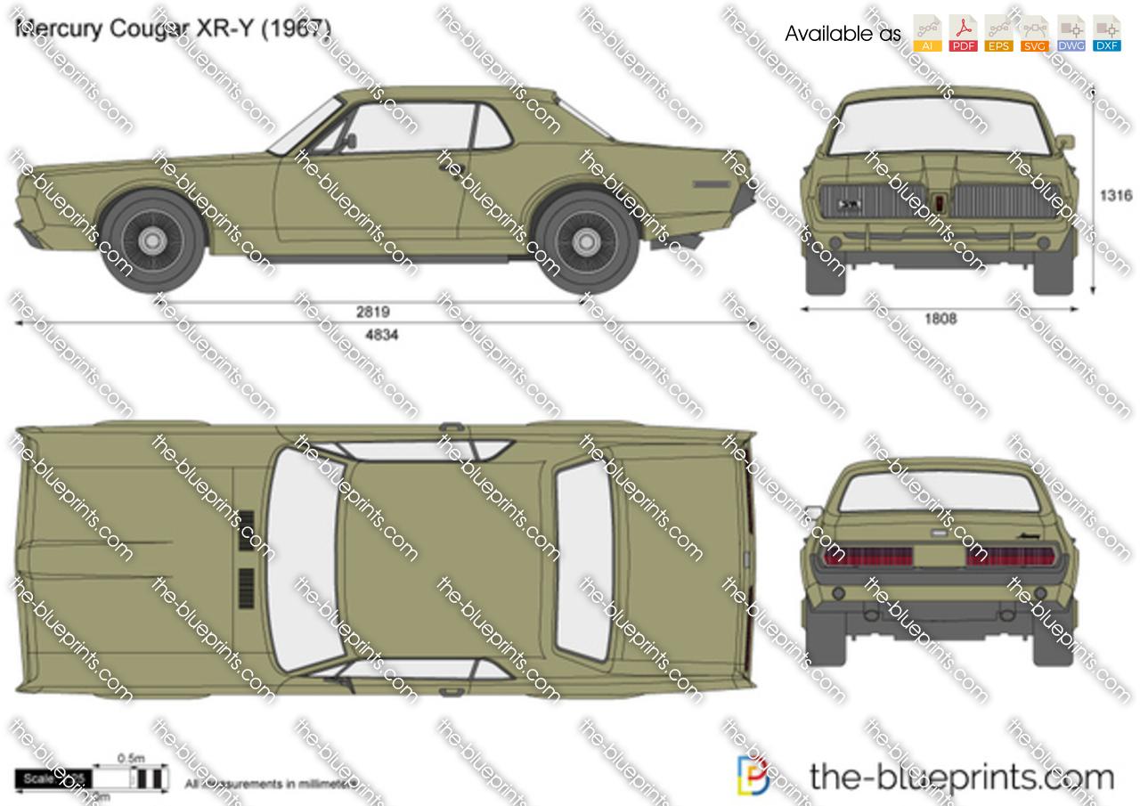 Mercury Cougar XR-Y 1968