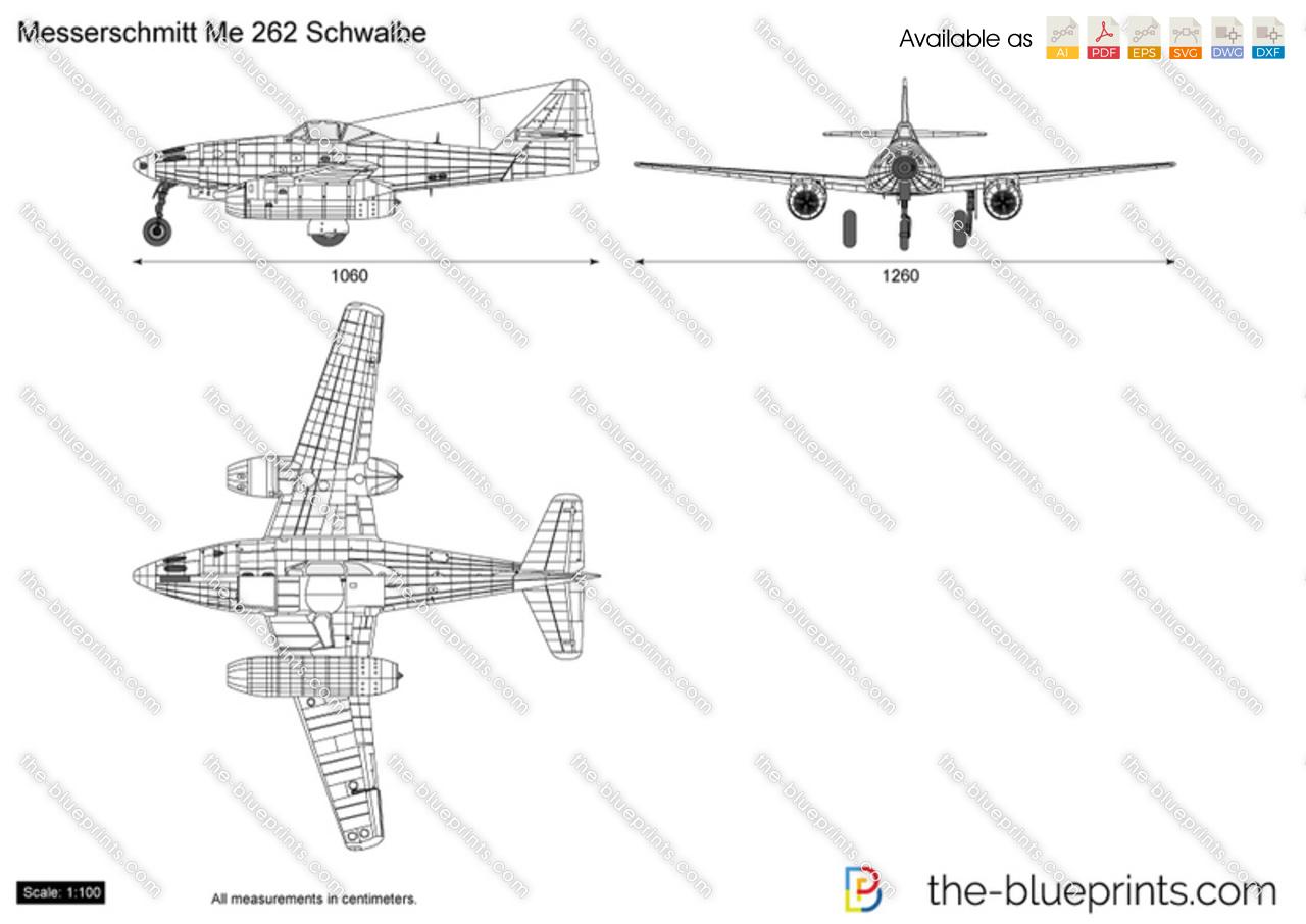 Blueprints ww2 airplanes messerschmitt messerschmitt me 262 messerschmitt me 262 schwalbe malvernweather Gallery