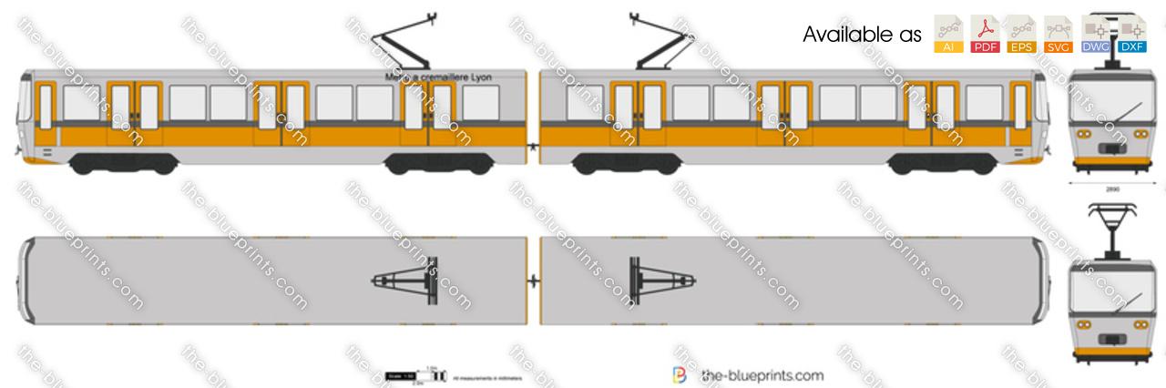 Metro a cremaillere Lyon