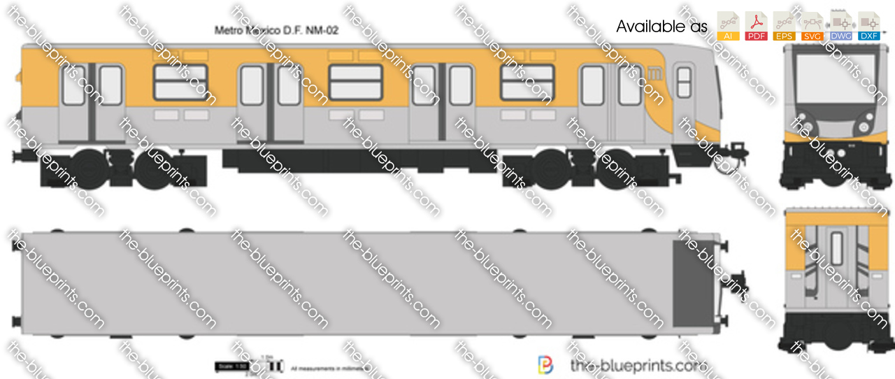 Metro Mexico D.F. NM-02